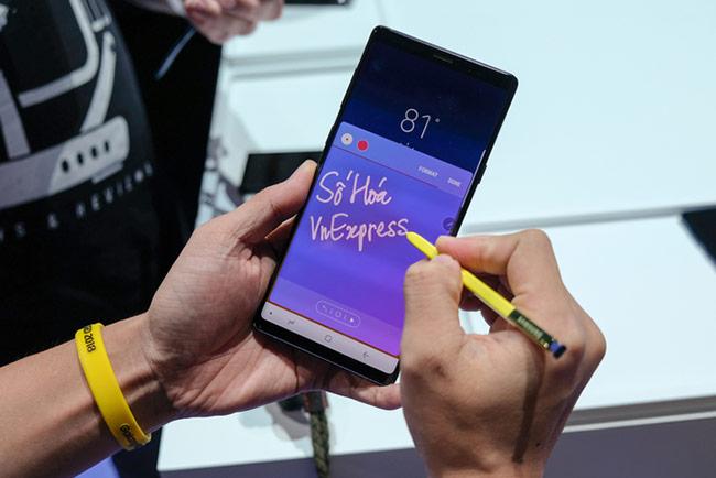 Galaxy Note9 được bán từ 24/8 với giá chưa thuế 999 USD