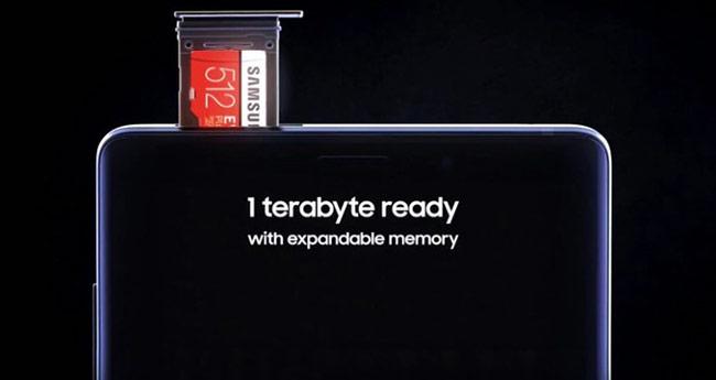 Các dòng máy iPhone đều không thể mở rộng bộ nhớ