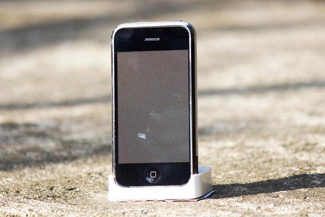 mẫu iPhone 2G phiên bản thử nghiệm