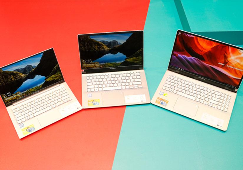 Laptop 13 inch màn hình tràn viền, giá rẻ