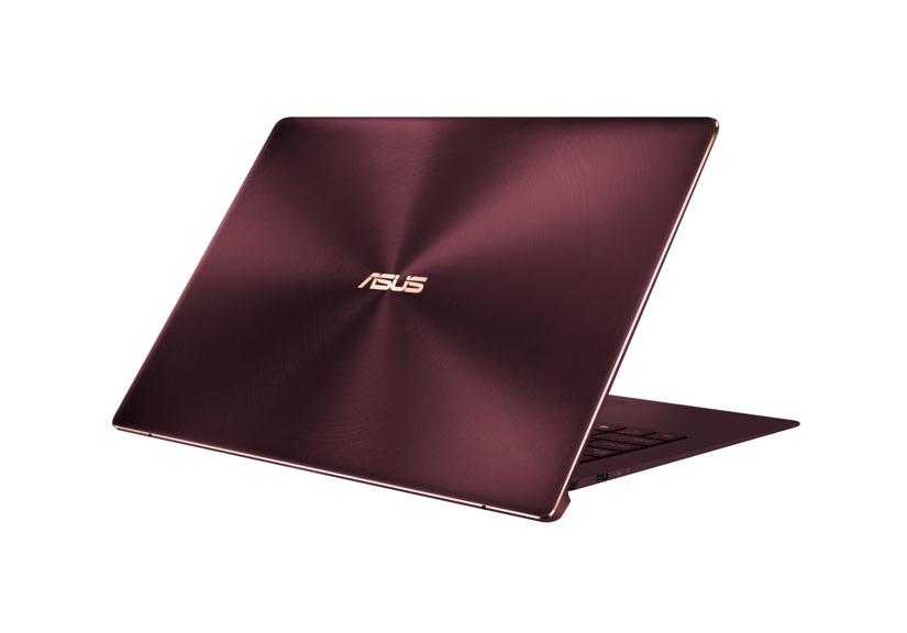 Asus ra mắt laptop siêu nhẹ ZenBook S phiên bản đỏ burgundy
