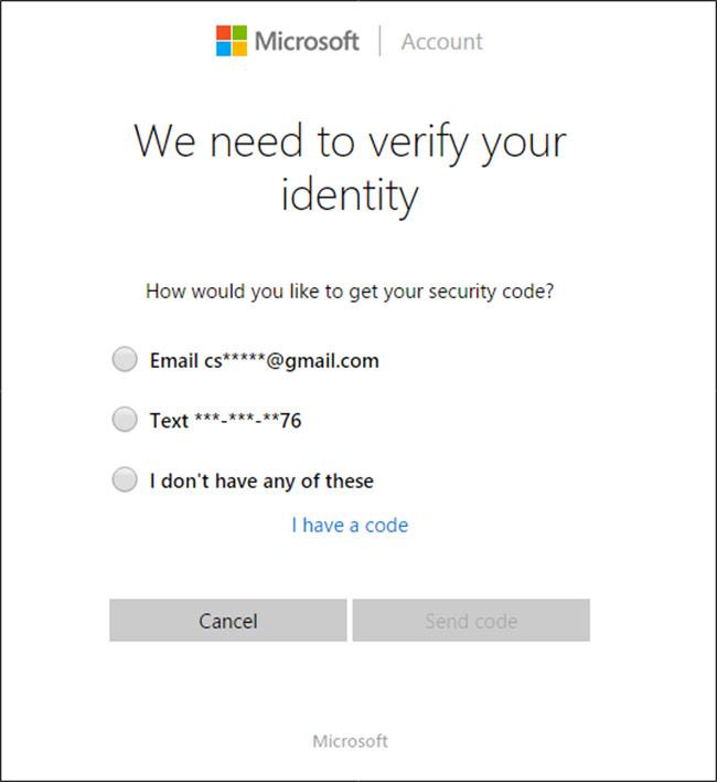 Cách đăng nhập máy tính khi quên password win 10