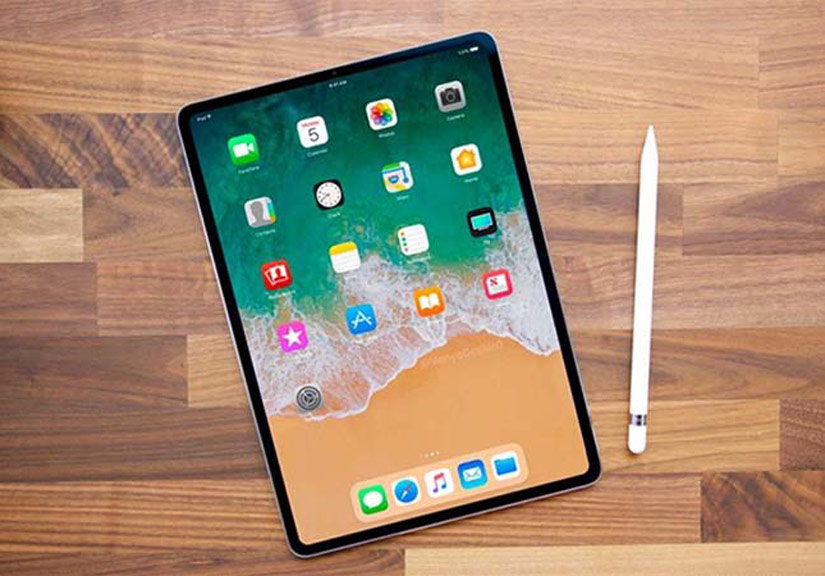 iPad Pro 2018 lộ bản thiết kế với viền siêu mỏng