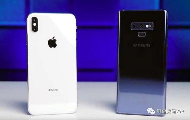 iPhone Xs có pin tốt hơn nhưng vẫn thua Galaxy Note9