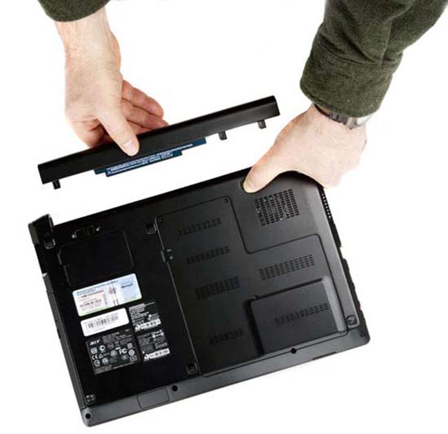 Nếu pin laptop sạc không vào thì phải làm các bước sau đây