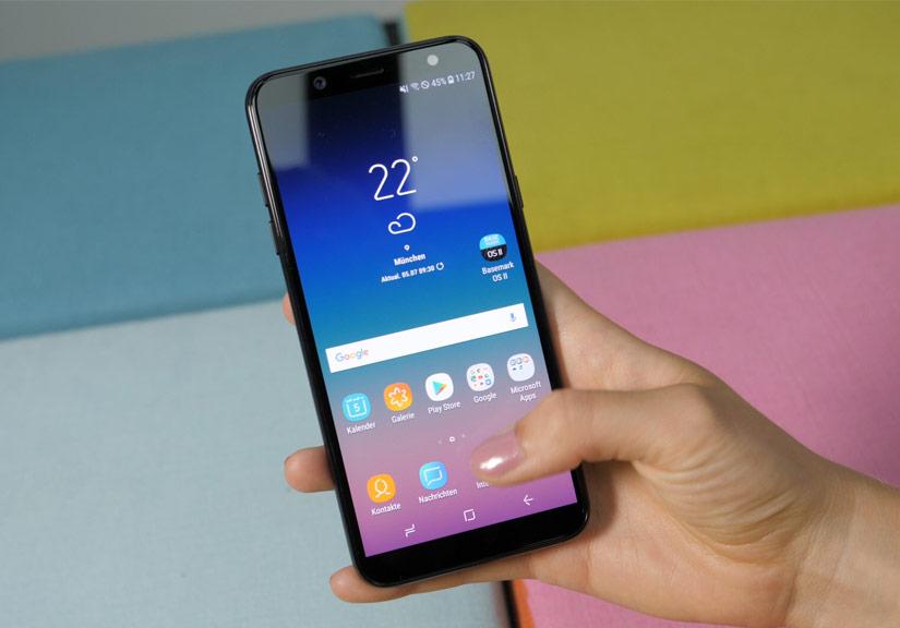 Samsung sắp ra Galaxy A6s với camera kép