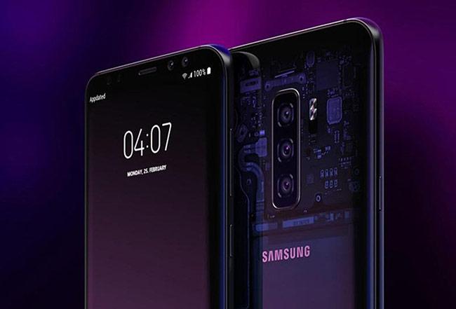 Thiết kế mới của Samsung Galaxy S10 với 6 màu sắc hấp dẫn