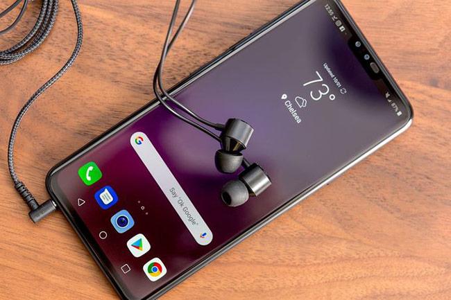 Điện thoại mới của LG là một trong số không nhiều smartphone còn giữ lại giắc cắm tai nghe 3,5 mm