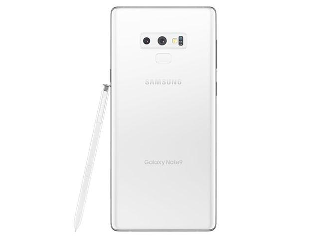 Samsung Galaxy Note 9 trắng tinh khiết bất ngờ xuất hiện