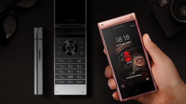Samsung ra smartphone nắp gập với hai màn hình