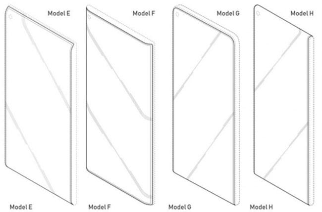 Thiết kế Galaxy S10 hé lộ qua bằng sáng chế mới của Samsung