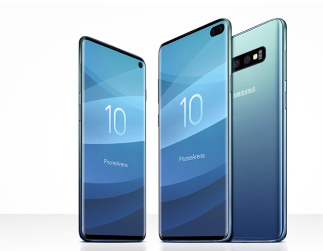 Galaxy S10 sẽ có hai kiểu màn hình đục lỗ