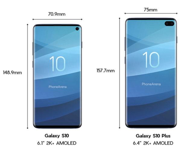 Galaxy S10 và Galaxy S10+ là hai model đáng chú ý nhất