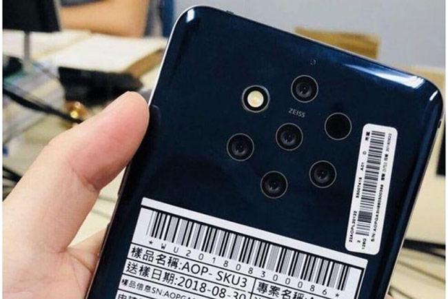 Lộ hình ảnh thực tế mặt trước của Nokia 9