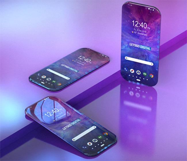 Smartphone đa giác của Samsung lộ diện qua bằng sáng chế