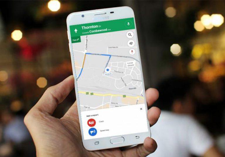 Google Maps thêm tính năng cảnh báo điểm bắn tốc độ