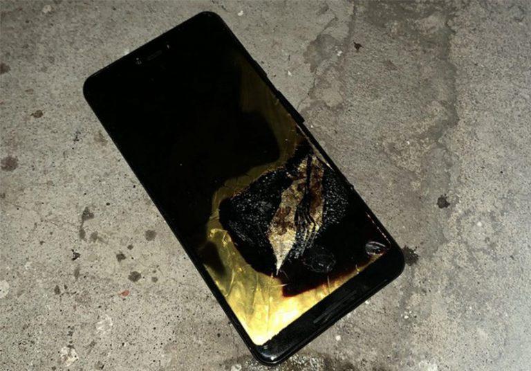 Một người dùng bị bỏng nhẹ do Google Pixel 3 XL phát nổ