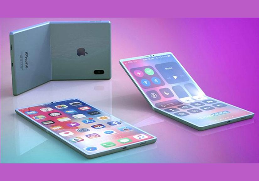 Apple sẽ sớm ra iPhone màn hình gập giống Samsung
