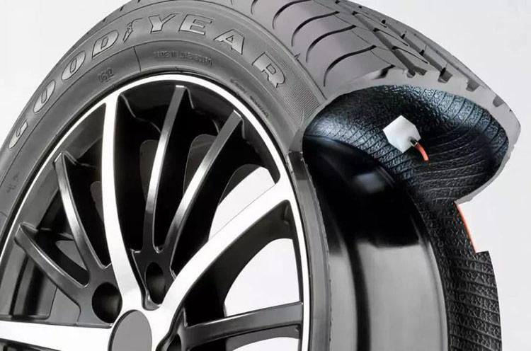 Lốp thông minh của Goodyear.