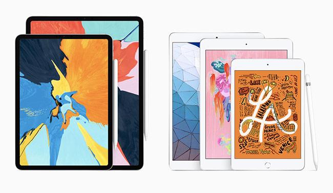 Bộ đôi iPad Air 10,5 inch và iPad mini 7,9 inch hoàn toàn mới