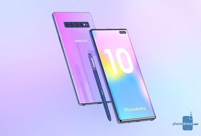 Galaxy Note10 có thể không còn phím vật lý