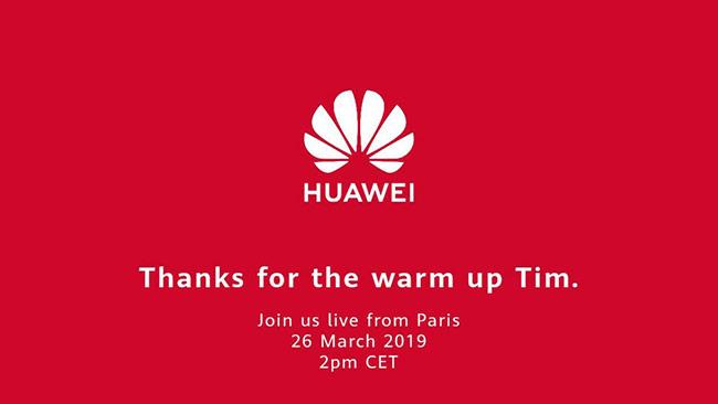 Huawei 'cảm ơn' Tim Cook sau sự kiện Apple
