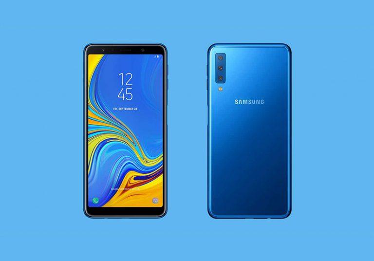 Samsung Galaxy A40 lộ diện: Camera kép và màn hình Infinity-U