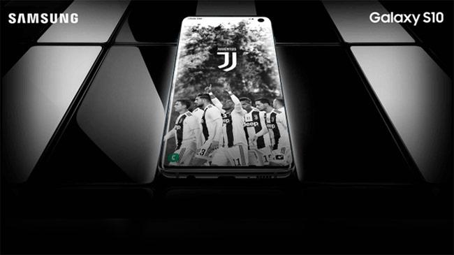 Samsung hợp tác với Juventus FC cho ra mắt Galaxy S10 phiên bản đặc biệt