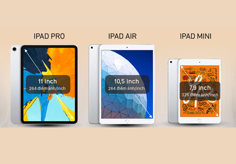 So sánh bộ đôi iPad giá rẻ mới với iPad Pro
