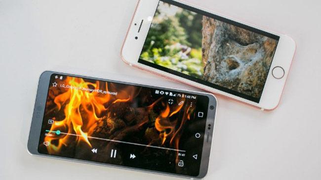 Màn hình LG G6 sử dụng tấm nền IPS LCD