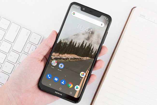 Nokia X5 được trang bị chip xử lý MediaTek Helio P60