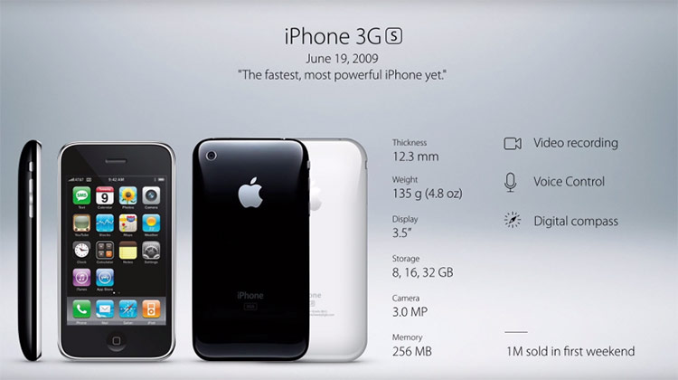 iPhone 3G, iPhone 3GS