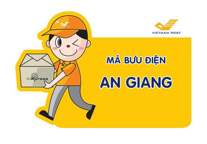 Mã bưu chính An Giang - Zip/Postal Code các bưu cục tỉnh An Giang