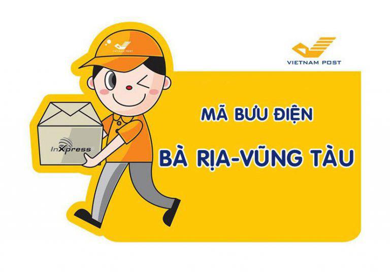 Mã bưu điện Bà Rịa - Vũng Tàu Zip/Postal Code các bưu cục tỉnh Bà Rịa - Vũng Tàu