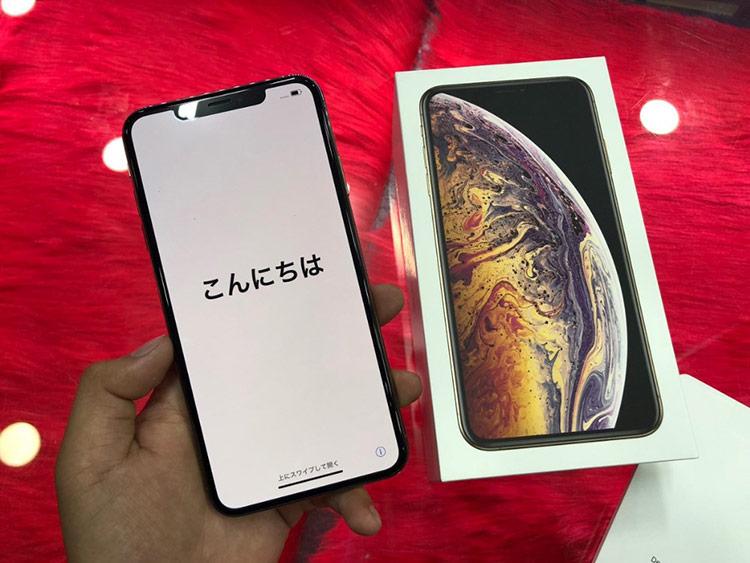 Giá bán của iPhone 2018 hàng xách tay không có nhiều thay đổi.