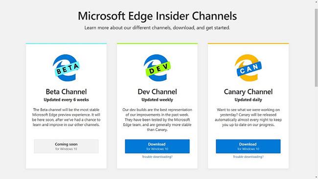Microsoft chính thức phát hành trình duyệt Edge Chromium