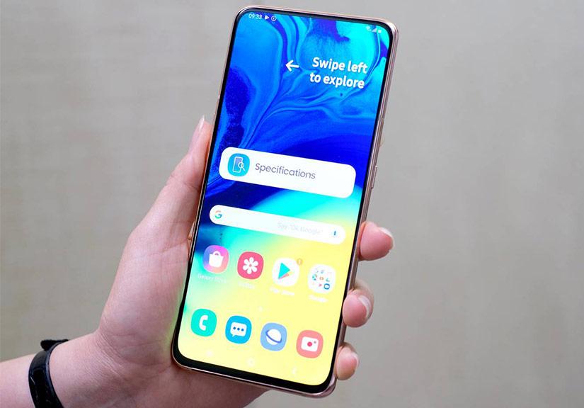Samsung ra Galaxy A80 với camera trượt xoay