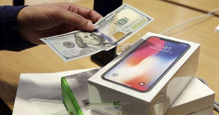 Mỗi chiếc iPhone khi mua về đều có khả năng giữ giá tốt hơn điện thoại Android rất nhiều
