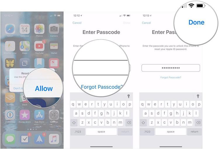 Chọn một trong các thiết bị đang liên kết với iCloud của bạn. Trong trường hợp này, chúng ta sử dụng iPhone.