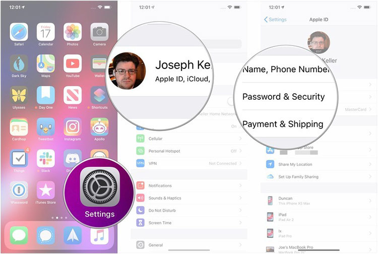 Cách đặt lại mật khẩu Apple ID trên iPhone, iPad và máy Mac