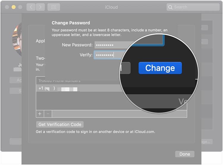 Cách đặt lại mật khẩu trên máy Mac
