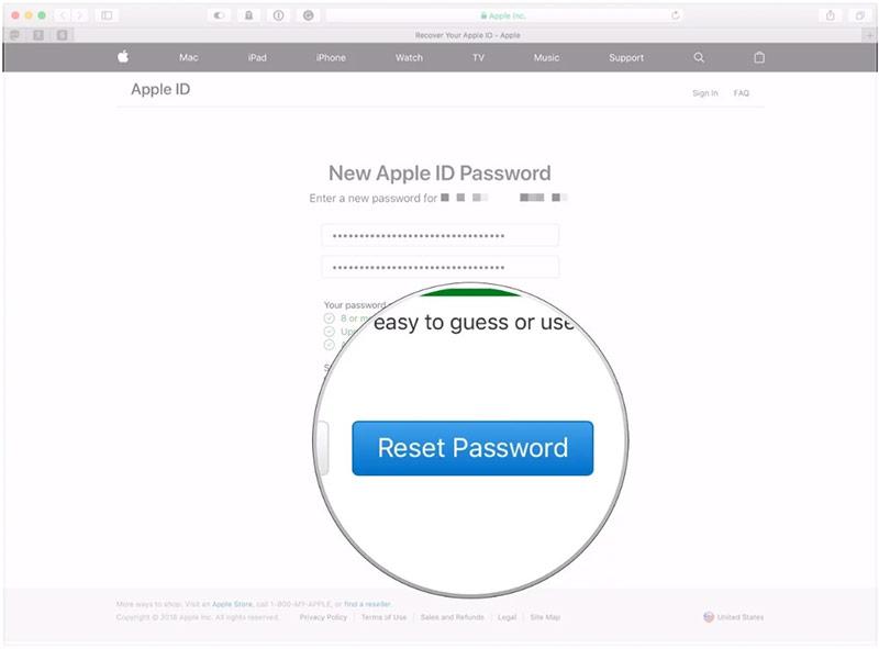 Đặt lại mật khẩu bằng câu hỏi bảo mật