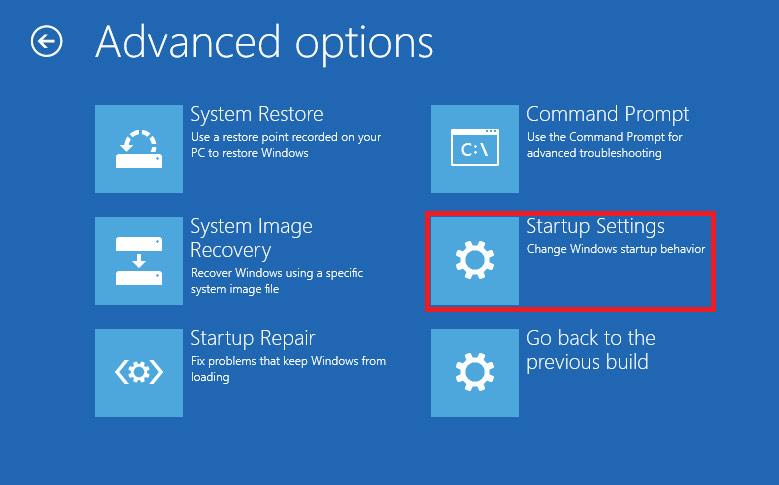 Vào Safe Mode Windows 10 khi khởi động