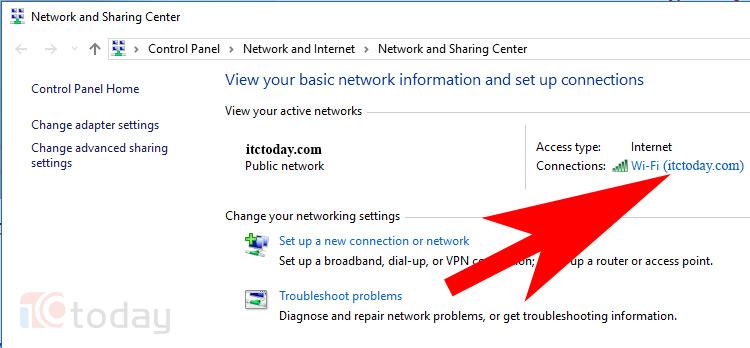 Xem Mật Khẩu WiFi Đang Kết Nối Trên Windows 10