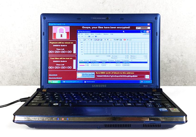 Chiếc laptop gom 6 loại virus nguy hiểm nhất giá 1,2 triệu USD