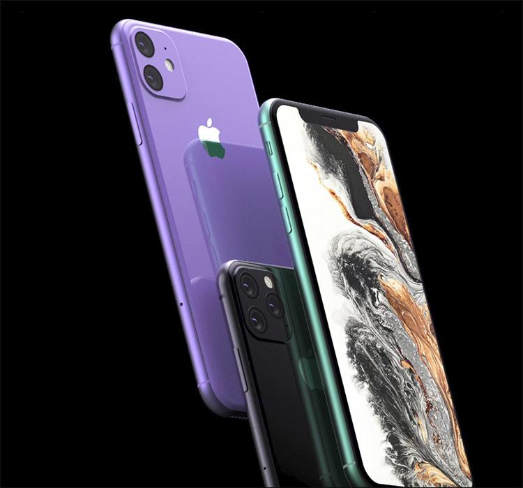 Ảnh dựng những mẫu iPhone mới với cụm camera vuông đặc trưng. Ảnh: Forbes.