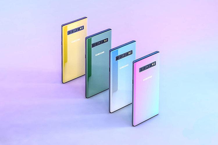 Galaxy Note 10 tiêu chuẩn sẽ được trang bị màn hình 6.3 inch, trong khi model Pro có màn hình 6.7 inch lớn hơn