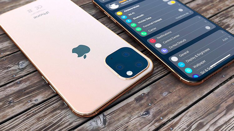 Một bản dựng iPhone 201 dựa trên các tin đồn. Ảnh: Digital Trends.