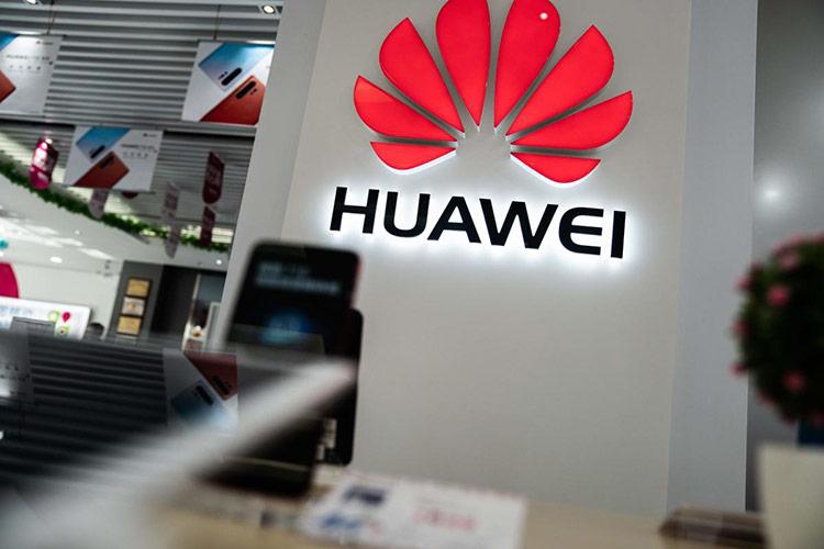 Biểu tượng Huawei tại một cửa hàng ở Bắc Kinh, Trung Quốc, ngày 20/5/2019.