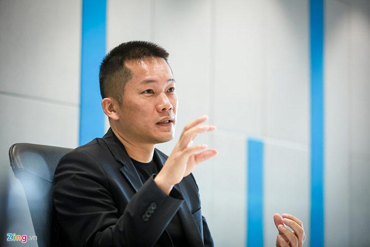 Alex Lin, Giám đốc Huawei châu Á - Thái Bình Dương trong buổi phỏng vấn với Zing.vn.